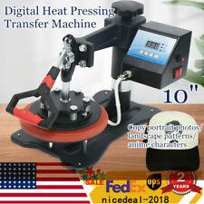 10 Digital Heat Press Machine Sublimation Transfer Printer T Shirt Plate 155cm