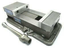Kurt Anglock 6 Milling Machine Vise With Soft Jaws Amp Handle D675