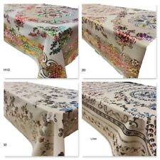 Waterproof Plastic PVC Tablecloth High Quality Laser Dining Table Cover Modern