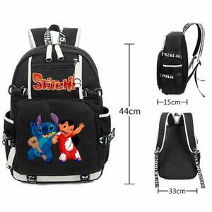 Lilo Stitch Laptop Backpack School Shoulder Bag For Teenagers Boys Girls Gift