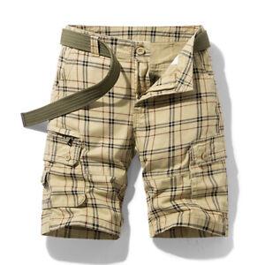 Mens Casual Shorts Comfortable Elasticity Drawstring Work Sports Shorts Pants