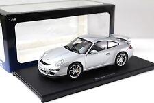 1:18 Autoart Porsche 911 (997) gt3 Street Silver New en Premium-modelcars