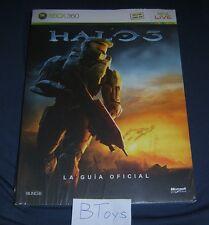 Halo 3 Spanish Strategy Guide La Guia Oficial XBox 360 - Prima Games NEW SEALED