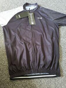 Gore Wear C5 Jersey - Black/White style 100164