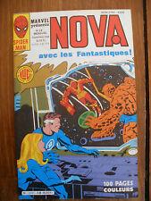 Semic MARVEL DC Comics FRANCE Spiderman BD LUG Super Heros NOVA n°68 Sept 1983