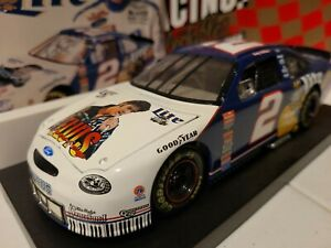 ACTION 1:24 Rusty Wallace #2 Miller Lite Elvis 1998 Ford Taurus Diecast Car z61