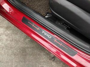 für Fiat Tipo Auto Schutz Zubehör Teile Beschützer Einstiegsleisten Türrahmen