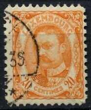 Luxembourg 1906-19 SG#165, 20c Orange Used #D63775