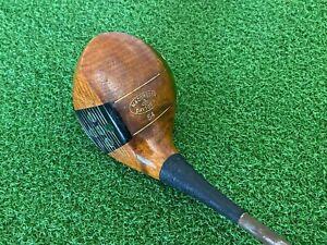 RARE Antique/Vintage MacGregor Golf BRASSIE 54 Fancy Face GOLF CLUB Dayton, OH