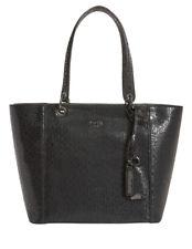 Guess GM669123BLA Kamryn Double Strap Tote Bag - Black