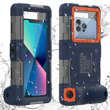 Underwater Diving Waterproof Case Cover for iPhone 13 12 11 Pro Max Samsung S21+