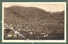 Friuli. SALCANO, Gorizia. Panorama. Cartolina d'epoca viaggiata.