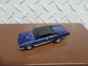 Loose Hot Wheels Treasure Hunt Blue '67 Pontiac GTO w/Real Riders