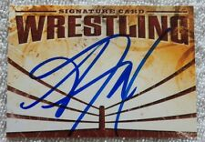 WWE Diva Alicia Fox aka Victoria Crawford Signed Wrestling Autograph Card Auto