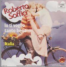 """7"""" Roberto Soffici to Ti Voglio Tanto Bene Nahrungsmittel// Italia 80`s Spiaggia"""