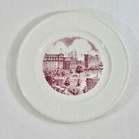 Wedgwood Plate New York University NYU Washington Square East View Mulberry VTG