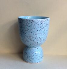 Vintage Japanese Ceramic Double Egg Cup Holder Blue Kitchenware