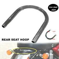 1PCS Rear Frame Hoop upswept Seat Loop Large CC Iron Steel Pipe Fit For Honda