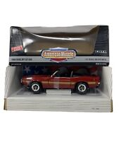 1:18 ERTL American Muscle Collector's Edition 1969 Shelby GT-500 Red 7350