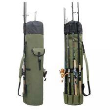 New portable Holder Fishing Rod Bag Pole Case Carry Shoulder Tackle Tube