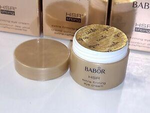 BABOR HSR Lifting Extra Firming anti-aging Eye Cream 1x Tiegel Luxusprobe