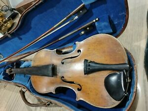 Ancien Violon Antonius Stradivarius 1721 Et Archet Louis Fricot