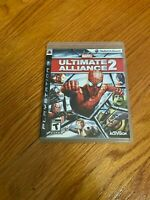 Marvel: Ultimate Alliance 2 (PlayStation 3, 2009) COMPLETE ACTIVISION PS3 TEEN