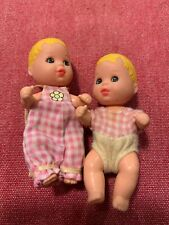 Mattel 1973 Barbie Krissy Twins With Clothing -Blonde Hair