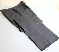 100% Wool Dress-Flat Front Pants for Men