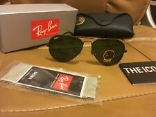 Sunglasses 3025 w0879 AVIATOR RAY BAN RB green glasses