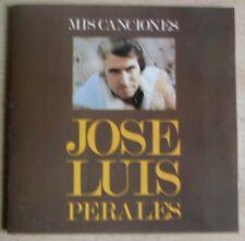 JOSE LUIS PERALES- Mis Canciones (Cd)