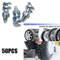 50PCS Tungsten carbide Car Tires Snow Spikes Wheel Tyres For Shoes ATV Car