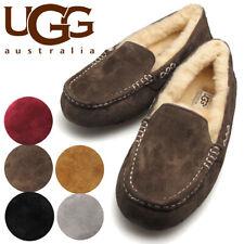 Ugg Australia женские новые ansley тапочки, туфли без шнуровки комфорт домашний мокасины