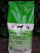 RACHITIN® plus Mineralfuttermittel Ergänzer für alle Tiere 1,25 kg Tüte