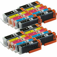 20 Pk PGI250XL CLI251XL Ink Set For Canon Pixma MG5420 MG5520 MG5620 MG6320