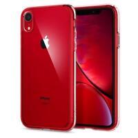 "Spigen Apple iPhone XR 6.1"" Ultra Hybrid Hülle Case Bumper Crystal Clear NEU"