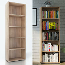 VICCO XXL Bücherregal Eiche Sonoma - Holzregal Wandregal Aktenschrank Regal Büro