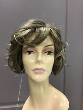 REVLON CECE Partial Monofilament Soft Curls A-line Wig, 10/140TR Brown + Blonde