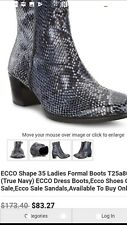 Womans Ecco boots/shoes size 35 (UK 2)
