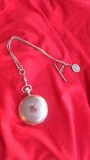 Vintage Ladies Waltham Pocket Watch w/chain Bob & Small Case  ...Beautiful!