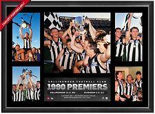 Collingwood 1990 AFL Premiership Glory Official AFL Photo Collage Framed Daicos