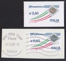 2010 - Italia   Posta Ordinaria 0,60 €   **  -  Varietà Busta Oro