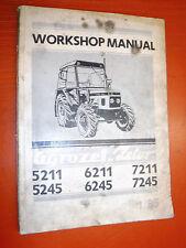 UP TO 1985 AGROZET ZETOR 5211 5245 6211 6245 7211 7245  SERVICE WORKSHOP MANUAL