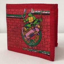 Vintage Tmnt Donatello Velcro Wallet