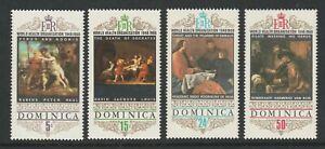 Dominica 1969 W.H.O.set SG 246-249 Mnh.