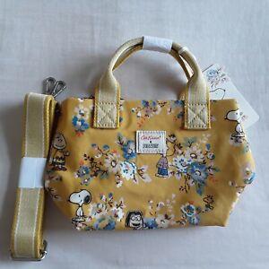 Brand new Cath kidston RARE Snoopy mini tote bag
