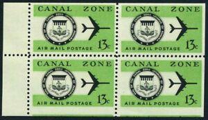 Panama Canal Zone C50a booklet,MNH.Michel 170DE. Air Post 1974.Seal,Jet Plane.