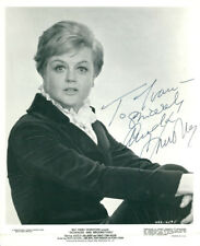 Angela Lansbury (Vintage, Inscribed) signed photo COA