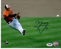 Baltimore Orioles Padres Manny Machado Signed Autograph 8x10 Photo - PSA DNA COA