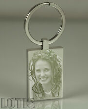 Personalised Engraved Keychain, Have your photo engraved, key chain